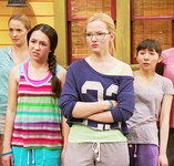 Cassie, Maddie and Stains