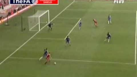 Community Shield - Chelsea v Liverpool Crouch goal