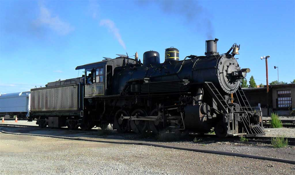2 8 0 Consolidation Type Locomotives: Lake Superior & Ishpeming No. 18