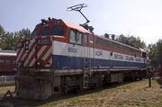 BC Rail GF6C 6001