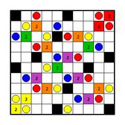 Coloured Akari Solution