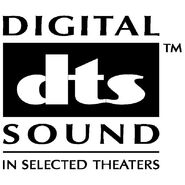 Digital dts sound logo