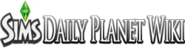 Sims Daily Planet Wiki-wordmark