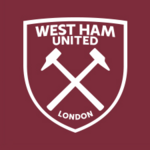 New West Ham United FC logo (claret and white v2)
