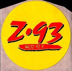 WGTZ 92.9 Z-93