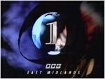 BBC 1 1991 East Midlands