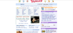 Yahoo Website 2005