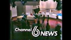 WBRC-TV's Channel 6 News Noon video opening from 1982