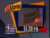 WBMG-TV 42 Friday the 13th The Series promo 1991
