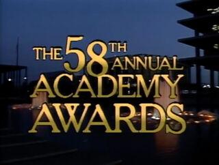 Oscars 58th