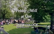 BBC Pebble Mill At One End Board 1973