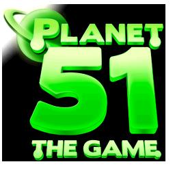 Planet 51 Video Game logo