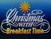 BBC-TV's BBC News' Christmas With Breakfast Time Video Open From Tuesday Morning, December 24, 1985 - 2