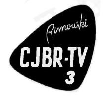 CJBR-TV logo 1960