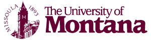 UMont clocktower logo