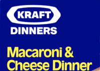Kraft Macaroni & Cheese Dinner 80s