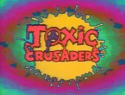 Toxic Crusaders Logo