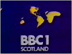 BBC 1 1974 Scotland