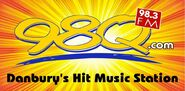 WDAQ-FM's 98Q's Danbury's Hit Music Station Logo From July 2012