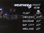 WNEM Weather Slate 1987