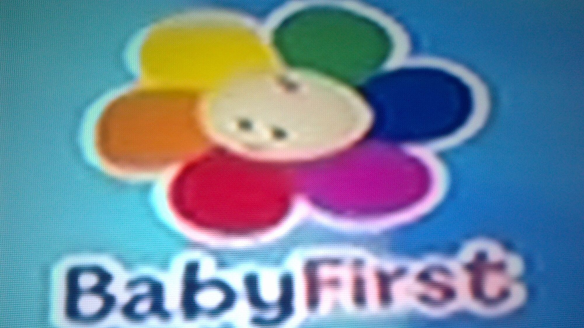 It is a graphic of Massif Babys First Tv Store