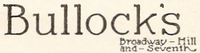 Bullocks 1910s