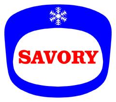 Logo savory 60's