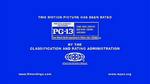 MPAA PG-13 Rating Screen (2013) Variant