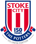 Stoke City FC logo (150th anniversary)