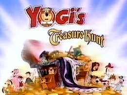 Yogi's Treasure Hunt Title Card