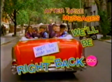ABC =After These Messages, We'll Be Right Back= 1990