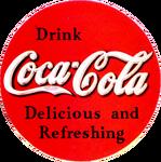 Coca-Cola ad logo 1934