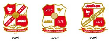 New Swindon Town FC logos