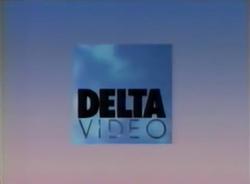 Delta Video 1990 Logo