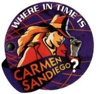 Where in Time is Carmen Sandiego Logo