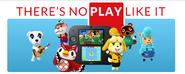 Nintendo slogan- THERES NO PLAY LIKE IT