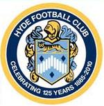 Hyde FC logo (125th anniversary)