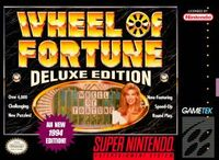 Wheel of Fortune Deluxe Edition (SNES)