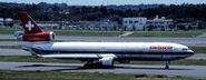 Swissair livery