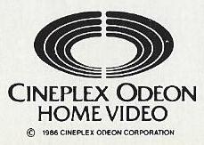 Cineplex Odeon Home Video b