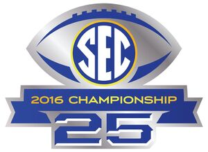 2016 SEC Championship Game logo