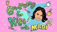 Nickelodeon Nick Jr. Gardening for Kids with Madi Logo
