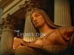 The Lyon's Den title card