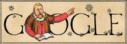 Google Tycho Brahe's 467th Birthday