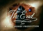 The End A Walt Disney Production (Ben and Me Variant)