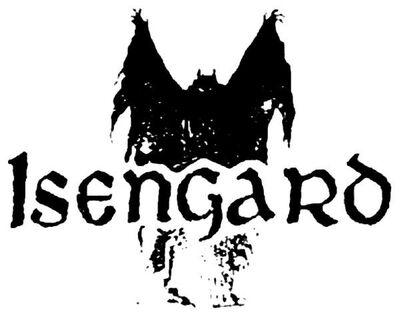 Isengard black metal logo