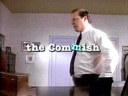 The Commish title screen