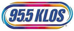 955KLOS Logo-White Bkgr