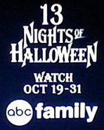 Abc family 13 nights of halloween logo 2014