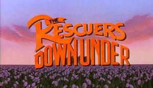 Rescuers Down Under 1990